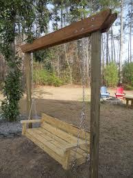 Wooden Garden Swing Bench Plans by 20 Diy Backyard Ideas On A Small Budget Diy Backyard Ideas Diy