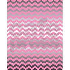 Chevron Print Area Rug Pink Metallic Silver Chevron Print 5 U0027x7 U0027area Rug By Mcintyrecreations