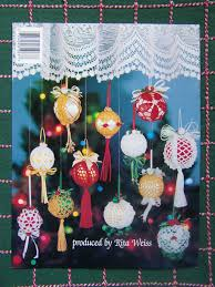 12 new bedspread cotton thread crochet christmas tree ornament