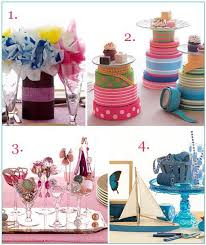 vibrant colorful non floral centerpieces perfect for the diy bride