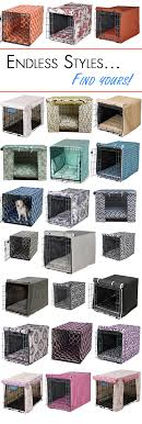 dog crate dog crate cover puppies pinterest crate add some color to your dog s wire crate with a designer crate cover