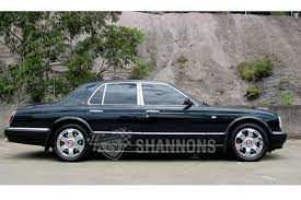 2000 bentley arnage sold bentley arnage u0027red label u0027 saloon auctions lot 26 shannons