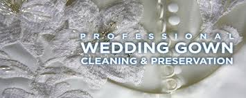 wedding dress cleaning and preservation home