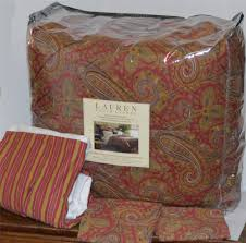 Ralph Lauren Comforter Queen Hera Paisley Champagne Ralph Lauren Bedding Sets Paisleychampa