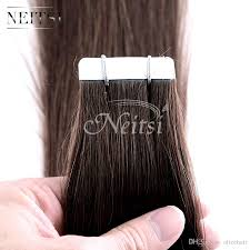 Hair Extensions Tape by Neitsi 20inch 4 120g Tape In Remy Human Hair Extensions Full Head