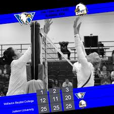 williams baptist college volleyball swept at u0027early bird challenge u0027