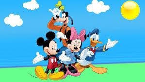 wallpaper for desktop of cartoons donald duck mickey mouse and goofy cartoon wallpaper hd for desktop