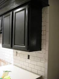 kitchen kitchen bold subway tiles in with white backsplash under