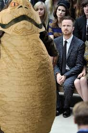 Bad Fashion Meme - jabba the hutt aaron paul confused by fashion know your meme