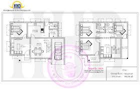 Villa Floor Plans by Beautiful Villa Floor Plan Kerala Home Design Bloglovin U0027