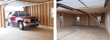 garage packages garage with loft horizon structures