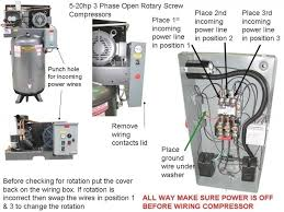 3 phase compressor wire diagrams 3 wiring diagrams