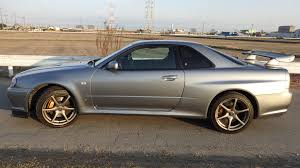 car nissan skyline nissan skyline gtr r34 v spec ii nur for sale in japan