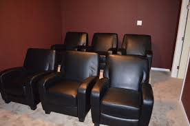 Reclining Chair Theaters Excellent Home Theater Recliner Chair For Stunning Barstools And