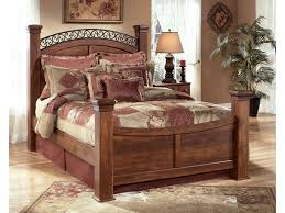 Poster Bed Frame Signature Design By Timberline Poster Bed Sol