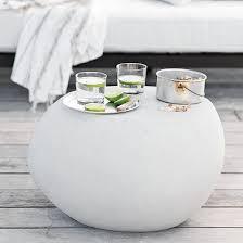 pebble outdoor coffee table versatile pebble side table