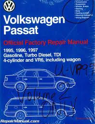 volume 2 only volkswagen passat b4 repair manual 1995 1996 1997