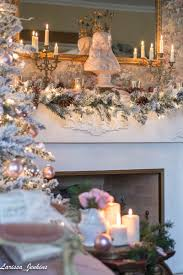 it u0027s a wonderful house christmas home tour blush pink christmas