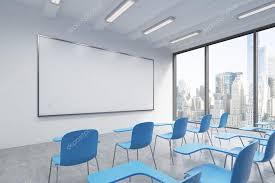 blanc au bureau une salle de classe ou d une présentation dans une université