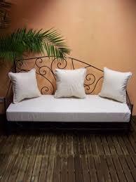 marokkanische sofa marokkanische mediterrane eisensofa gartensofa eisencouch metall