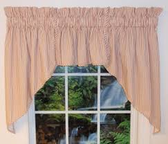 Blue Ticking Curtains Ticking Stripe Fabric Thecurtainshop