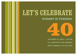 40th birthday ideas 40th birthday invitation templates free download