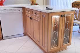 decorating mesmerizing natural wooden kitchen cabinets for