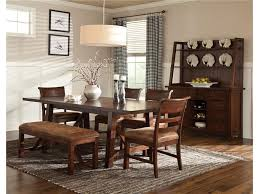 Dining Room Table Set With Bench Intercon Bench Creek Gathering Height Dining Table Wayside