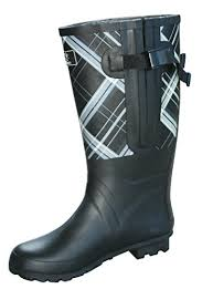 womens boots canada wide calf amazon com jileon wide calf rubber boots for