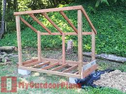 Wood Storage Rack Woodworking Plans by Best 25 Wood Shed Plans Ideas On Pinterest Shed Blueprints