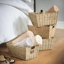 vonhaus seagrass storage basket u0026 reviews wayfair