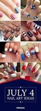 9 best nails images on pinterest blue nails 4th of july nails