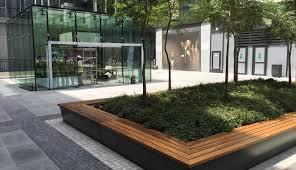 landscape architecture public realm design pools courtyard