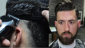 short hairstyles with weight lines blended in low skin fade haircut tutorial youtube