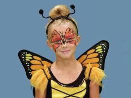 Blue Butterfly Halloween Costume Halloween Makeup Tutorial Butterfly Hgtv
