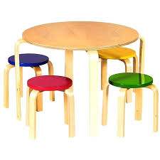 american kids 5 piece wood table and chair set kids round table table leg adjusted round table for kids kids table