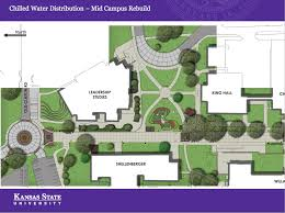 Kansas State Campus Map chilled water plant and distribution project campus projects