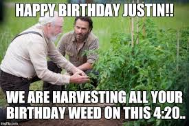 Walking Dead Happy Birthday Meme - walking dead garden imgflip