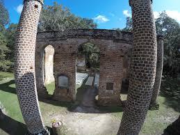 preserving american history colonial era church ruins pix4d