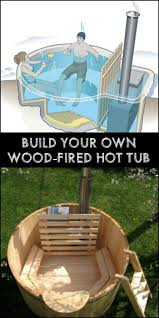 Jacuzzi Tub Best 25 Wood Fired Tub Diy Ideas On Pinterest Diy Hottub