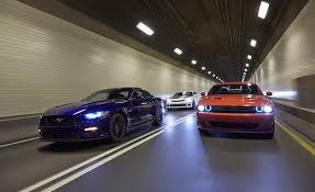 car and driver mustang vs camaro 2015 ford mustang gt vs chevrolet camaro ss 1le dodge challenger