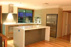 kitchen with island bench modern contemporary kitchen with evoline port pop up power from
