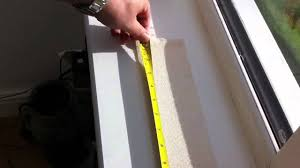 how to measure for replacement vertical blind slats youtube