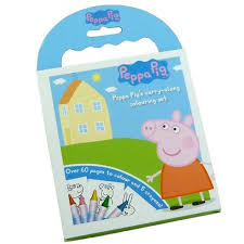 peppa pig carry colouring stationery wholesale
