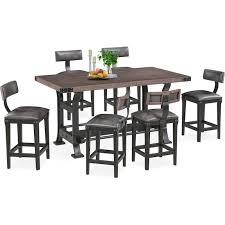 newcastle counter height table the newcastle counter height collection american signature furniture