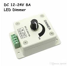 what is the best dimmer for led lights led dimmer dc 12 24v 8a 96w light ls switch dimmer bright