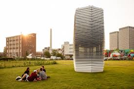 the smog free tower by daan roosegaarde kickstarter