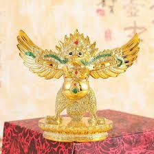 buddhist ornament home decoration glassfiber lucky ornament