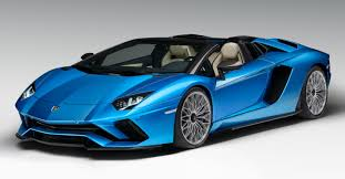 blue camo lamborghini lamborghini aventador s roadster revealed ahead of frankfurt debut