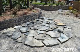 Stone Patio Diy by 3 Hour Flagstone Patio